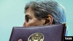 АҚШ мемлекеттік хатшысы Джон Керри БҰҰ Бас Ассамблеясының 71-сессиясы кезінде. Нью-Йорк, 21 қыркүйек 2016 жыл.