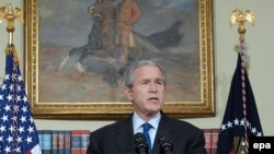 جورج بوش در سخنرانی به مناسبت آغاز پنجمین سالگرد حمله نظامی به عراق
