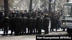 Almaty şäherinde, 2012-nji ýylyň 25-nji fewraly.