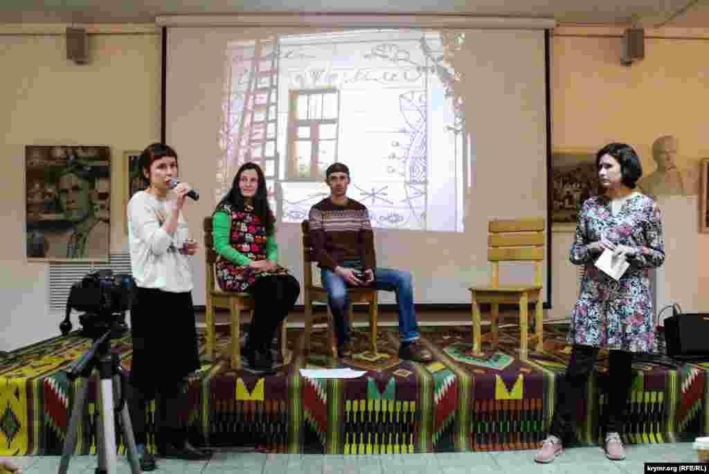 Kiyevde Qırım medeniyeti aqqında «Qırım yolçıqları» serlevalı leyhanı taqdim ettiler, 2016 senesi yanvar 30 künü