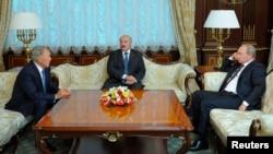 Ռուսաստանի, Բելառուսի և Ղազախստանի նախագահների հանդիպումը Մինսկում, 26-ը օգոստոսի, 2014թ․