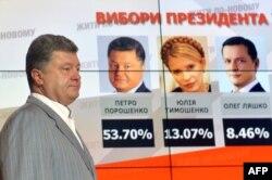 Petro Poroșenko, noul președinte al Ucrainei
