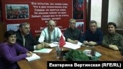 """Актив """"Штаба протестных действий"""" в Иркутской области"""