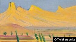 Мартирос Сарьян. Газели. 1926. Холст, масло. 46 x 61