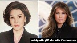 Зироатхон Хашимова (слева) и Мелания Трамп.