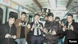 Metroda dinc aksiya