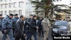 Задержание Заира Акадырова, архивное фото