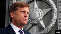 Former U.S. Ambassador to Russia Michael McFaul rejected the assertion that NATO expansion had provoked Russia into annexing Crimea.