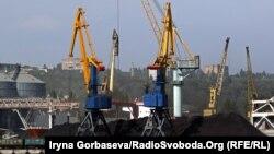 Ранее в порту Мариуполь осуществлялась перевалка угля и глины