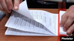 Երեւանի ավագանու մայիսի 5-ի ընտրություններ, ընտրատեղամասերից մեկում