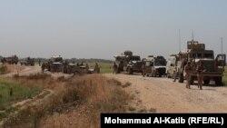 قوات من الجيش العراقي تمشط مناطق شرق الموصل
