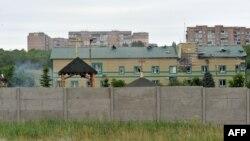 Луганскиде орусиячыл сепаратисттер чабуул койгон чек ара кызматынын базасы, 2-июнь,, 2014