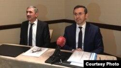 Vəkil Aslan İsmayilov və Ömür Oral. mart2017