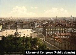 Санкт-Петербург. Площадь Государственного совета. 1890-е