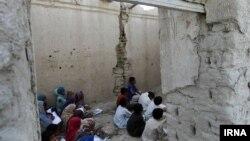 «مدرسهای» در روستای کوچو، استان سیستان و بلوچستان