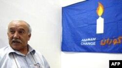عضو حركة التغيير الكردية (غوران) عثمان داشكي