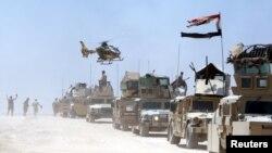 قوات عراقية في حصيبة بمحافظة الأنبار