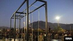 Эшафот в Иране. Иллюстративное фото.