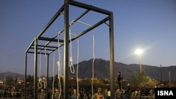 An execution in Iran (file photo)