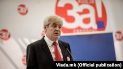 Претседателот на ДУИ,Али Ахмети