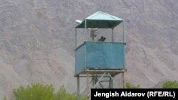 Баткендеги кыргыз-тажик чек арасы. 29-апрель, 2013-жыл.