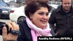Қамауда отырған әзербайжандық журналист Хадиджа Исмаилова.