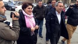 Azerbaijan -- Journalist Khadija Ismayilova summoned to Prosecutor General's office - 19Feb2014