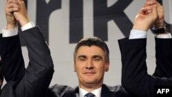 Претседателот на Социјалдемократската партија на Хрватска, Зоран Миловановиќ
