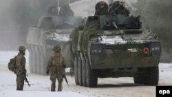 Litvada NATO hərbçiləri