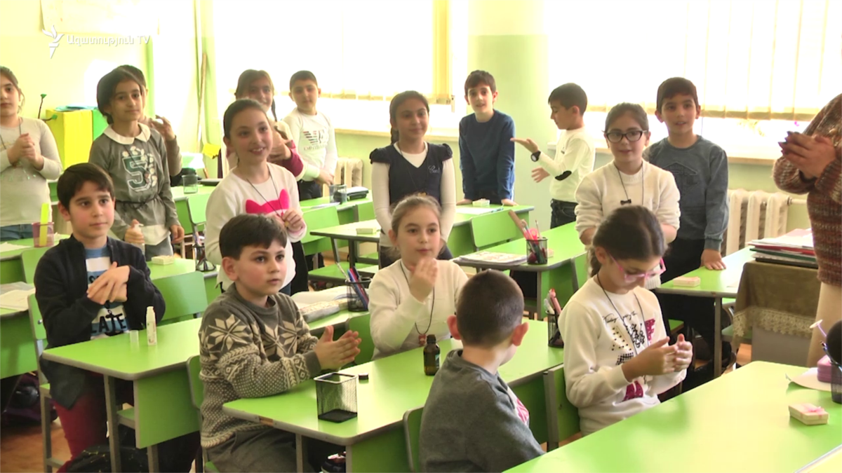 Schools In Armenia To Reopen On September 15