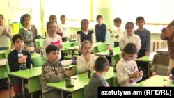 Armenia -- A lesson in a Yerevan school (file photo)