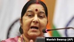 Міністр закордонних справ Індії Сушма Сварадж