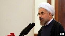 حسن روحانی، رئیسجمهور ایران.