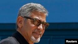 Американский актер Джордж Клуни