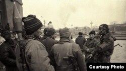 Luptători ceceni în cursul primului război cu Rusia