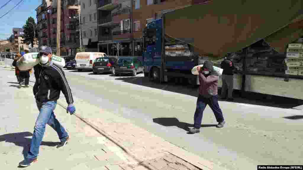 Достава на намирници во Дебар