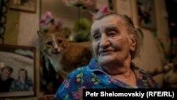 Анна Васильевна Крикун и кот Рыжик