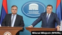 Mladen Ivanić i Milorad Dodik