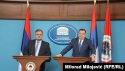 Milorad Dodik i Mladen Ivanić