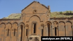 Turkey/Armenia -- The 11th century Holy Virgin Cathedral of Ani, July 2009.