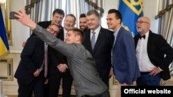 Президент Украины на Евровидении. Май 2017, Киев
