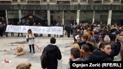 Skup solidarnosti u Beogradu, 26. decembar