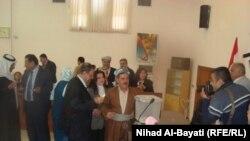 جانب من إنتخابات مجلس محافظة كركوك