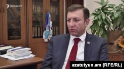 Կենտրոնական ընտրական հանձնաժողովի քարտուղար Արմեն Սմբատյան
