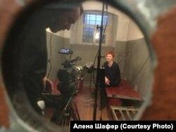 Съемки фильма о Марии Бочкаревой