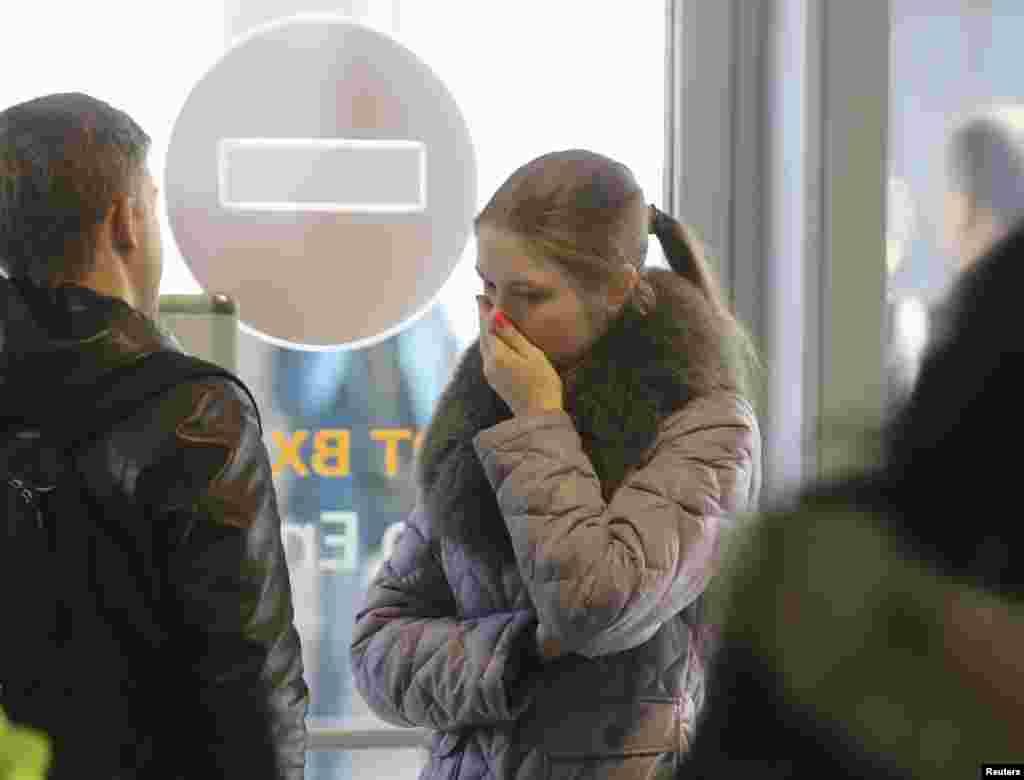 Аэропорт «Пулково» в Санкт-Петербурге. 31 октября