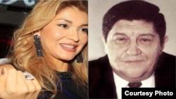 Гулнора Каримова ва Рустам Иноятов.