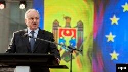 Moldovan President Nicolae Timofti (file photo)