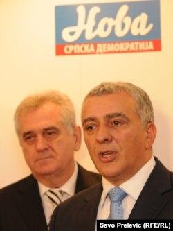 Tomislav Nikolić sastao se u Podgorici i sa Andrijom Mandićem
