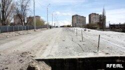 Վերանորոգվող «Գարեգին Նժդեհ» ուղետար կամուրջը: